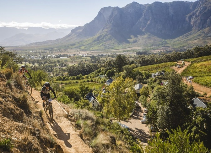 mountain biking banhoek valley stellenbosch franschhoek