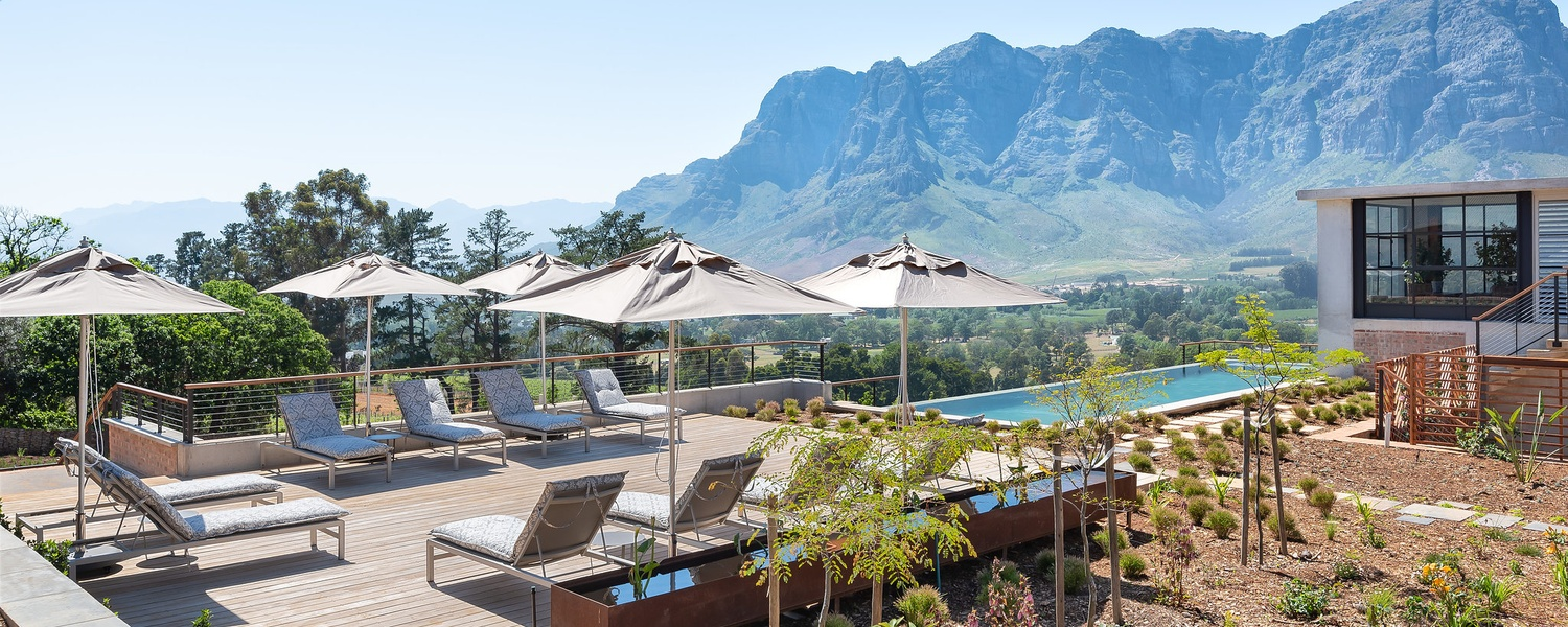 Summer accommodation stellenbosch franschhoek